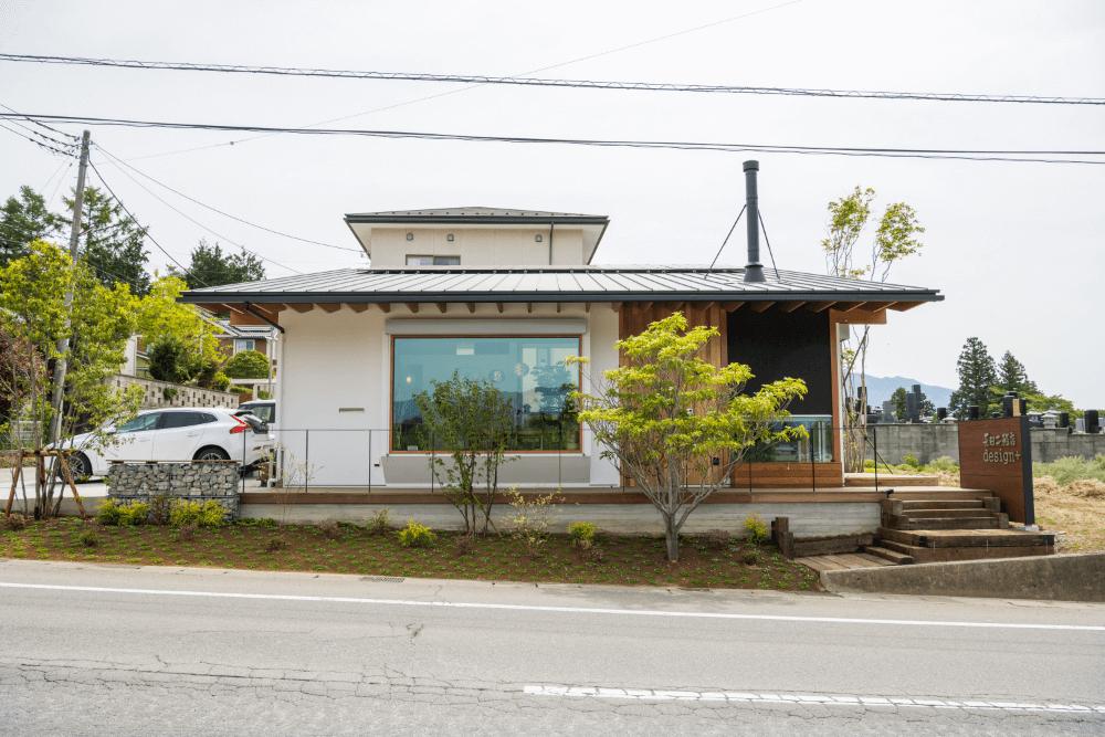 長田工務店Design+ 外観 西から見た様子